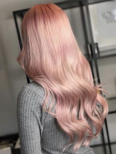 So in love with my hair! Thank you @lavella_hair! Perfection. #haircolor #pink #gorgeoushair #pastelpink #candyfloss #nofilter Pastel Pink Hair, Candyfloss, Gorgeous Hair, Haircolor, Long Hair Styles, Music, Beauty, Hair Color, Musica