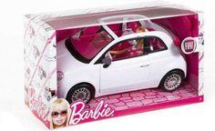 Barbie Fiat Car | BARBIE AUTO FIAT 500 SAMOCHÓD+LALKA BARBIE+HARIBO (3218827825)