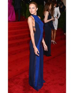 Candice at the Met Gala. this dress is beautiful