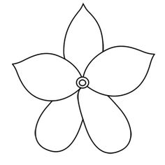 Repeating the petal pattern to reveal four different kinds of learn how to draw a jasmine flower drawing white and purple and with five petals to give it a star shape in this simple step by step cartoon lesson mightylinksfo