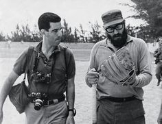 """Lockwood on the baseball field with Castro, 1964. © 2016 Lee Lockwood/TASCHEN.Late in 1959, the photojournalist Lee Lockwood flewto Cuba to witness the end of Batista's regime. After a long search, he found Fidel Castro, who had only just seized power. The two had an immediate rapport, and in successive trips over the next decade,... <a href=""""http://www.theparisreview.org/blog/2016/07/11/literature-in-castros-cuba/"""">Read More</a> <span class=""""link"""">»</span>"""