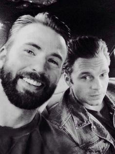 Sebastian ⭐ Stan and Chris Evans