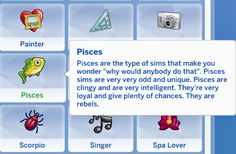 Zodiac Trait Pack Virgo Trait Virgos are the kings and queens of overthinking and try their best to master everything their talents. Sims 4 Body Mods, Sims 4 Game Mods, Sims Mods, Sims Traits, Tumblr Sims 4, Sims 4 Stories, Sims 4 Cc Folder, Sims 4 Family, The Sims 4 Packs