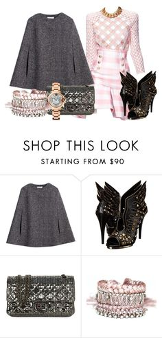 """""""Classy ★"""" by rgo1 ❤ liked on Polyvore featuring Balmain, Hobbs, Roberto Cavalli, Chanel, Ambre Babzoe and Cartier"""