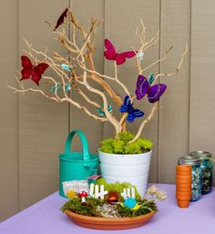 Fairy Garden Birthday Party Ideas | Photo 7 of 47 | Catch My Party