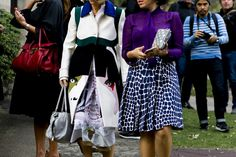Australia Fashion Week Street Style Feels the Blues - Australia Fashion Week Street Style-Wmag