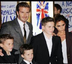 In the Beckham family......