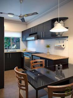 Cucina in stile in stile Moderno di arQing