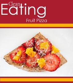 Clean Eating Fruit Pizza. #cleaneating #eatclean #cleaneatingrecipes #pizza #pizzarecipes #cleaneatingpizza I got this recipe at http://greekfood-recipes.com/posts/Clean-Eating-Fruit-Pizza-cleaneating-eatclean-cleaneatingrecipes-57678