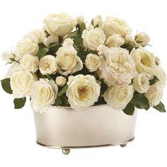 Ethan Allen Grand Rose Centerpiece (2,725 PEN) ❤ liked on Polyvore featuring home, home decor, floral decor, flowers, plants, backgrounds, decor, fillers, rose centerpieces and flower arrangement