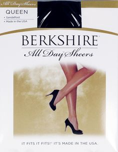 e8f5b93ef33 Berkshire Queen All Day Sheer NonControl Top Pantyhose Sandalfoot 4416  Stone   Details can be found by clicking on the image.