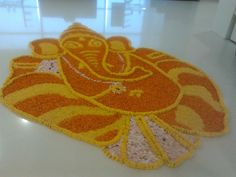#RangoKiDiwali #AsianPaints #colours My Ganeshji Rangoli