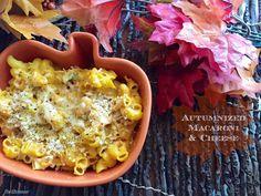 Autumnized Macaroni and Cheese   Pumpkin Macaroni and Cheese