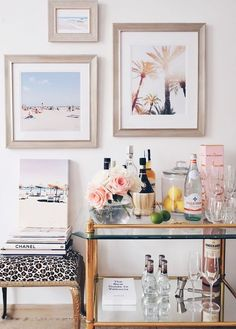 How-to | Decor Inspiration: How to Style the Perfect Bar Cart