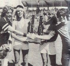 Eagles vs Rolling Stone Magazine Softball game 1978. Eagles won!!!