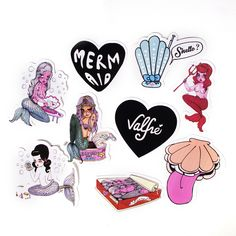 Mermaid Sticker Packet by Valfre | Valfré