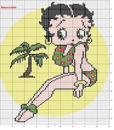 sandylandya@outlook.es  ♥Meus Gráficos De Ponto Cruz♥: Betty Boop