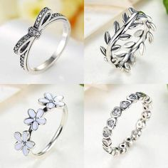 Rings, 925 Sterling Silver, Jewellery, Jewelry.