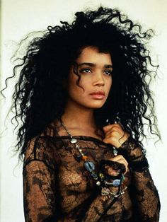 Lisa Bonet. Yay!!!! This was from Courtney Love's board! She has awesome taste!
