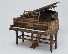 Grand piano. Place of origin: London, England (made). Date: 1883 (made).  © V&A Images
