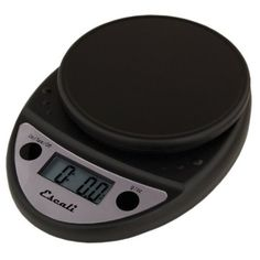 "Amazon.com: Escali P115C Primo Digital Multifunctional Food Scale, Black: 6""x8"" $23  spill-proof, runs on AAs"