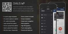 Download and review of Chalis Mobile Retina   WordPress Version, one of the best Themeforest Mobile themes