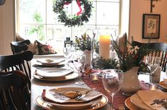 NINE + SIXTEEN: Christmas Day Brunch at Our Home