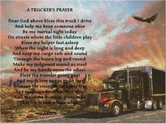 Poems About Truck Drivers | Wow... | Truck Driving ... |Lifted Truck Poems