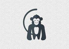 Resultado de imagen de negative space monos