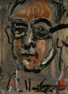 self-portrait Iberê Camargo