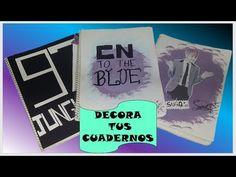 DIY K-POP DECORA TUS CUADERNOS  /BTS/CNBLUE