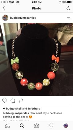 Chunky Bead Necklaces, Chunky Beads, Beaded Necklace, Fashion Necklace, Jewelry, Style, Beaded Collar, Swag, Jewlery