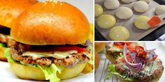 Pizza Burgers, How To Make Bread, Bon Appetit, Barbecue, Food And Drink, Menu, Snacks, Dishes, Baking