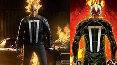 First Official Look at Ghost Rider in Marvel's Agents of SHIELD!