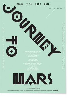 Only Connect Festival of Sound 2012 by Non-Format , via Behance