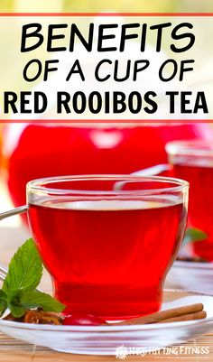 I did not know all these health benefits of red tea. I'm so glad I discovered a super healthy addition or alternative to green tea.