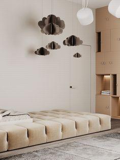 Casa Loft, Aesthetic Room Decor, Kids Room Design, Kid Spaces, Kids Furniture, Kids Bedroom, Interior Design, Behance, Kidsroom
