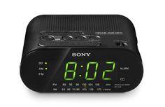 $37. Sony ICF-C218 Clock Radio (Black) (Discontinued by Manufacturer) Sony http://www.amazon.com/dp/B000MXWSWI/ref=cm_sw_r_pi_dp_Y7Qavb16MVF5T