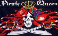 Pirate Queen 3'x 5' Pirate Flag