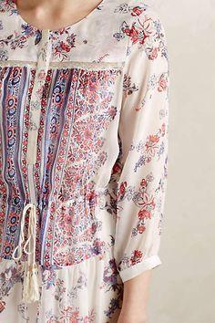 Sestina Silk Maxi Dress - anthropologie.com