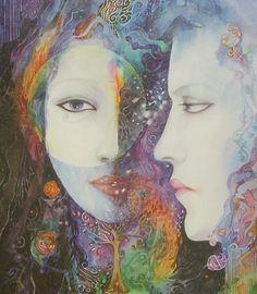 Réflexion fine art imprimé sur toile par par HelenaNelsonReed