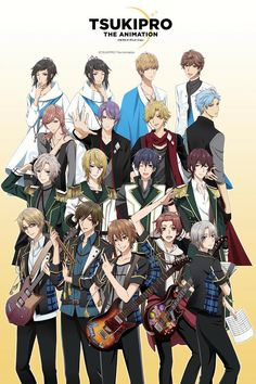 """""""Tsukipro the Animation"""" Gets Anime Sequel by Mike Ferreira"""