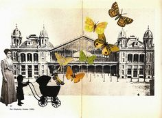 Stazione di Pest | Work-in-progress: cut & paste collage on … | Flickr