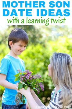 Here are a dozen + mother son date ideas that have a learning twist. Raising boys who love to learn doesn't have to be hard. These ideas give you a perfect way to spend some time learning together with your boys. Spend time together and create special memories!