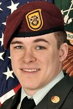 Army SPC Joshua J. Strickland, 23, of Woodstock, Georgia. Died September 21, 2013, serving during Operation Enduring Freedom. Assigned to 1st Battalion, 1st Special Forces Group, Joint Base Lewis-McChord, Washington. Died at Forward Operating Base Shank, Afghanistan, of wounds sustained when an Afghan wearing a security forces uniform turned his weapon on U.S. troops conducting range training in Gardez, Paktia Province, Afghanistan.