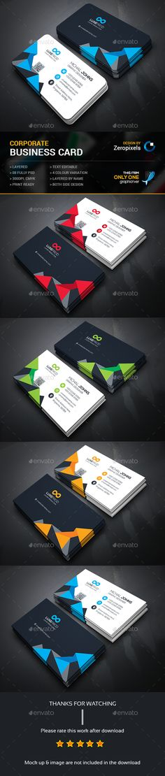 Business Card Template PSD. Download here: http://graphicriver.net/item/business-card/15935790?ref=ksioks