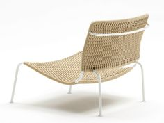 Garden rope easy chair FROG   Rope easy chair by Living Divani