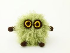 "Mini Circle Creature Amigurumi- Free Pattern - Click ""Instructions"""