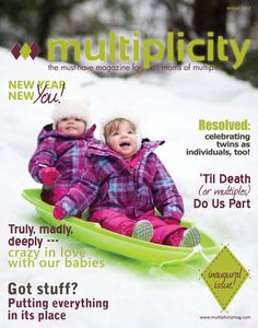 Multiplicity Magazine, a digital publication for moms of multiples