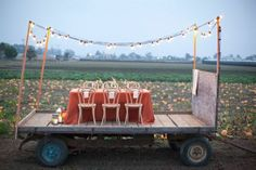 Party on Wheels - in a pumpkin patch.